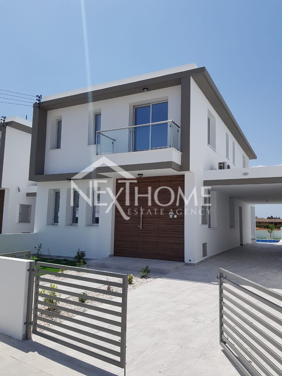 3 bedroom detached house with a pool in Livadia, Larnaca